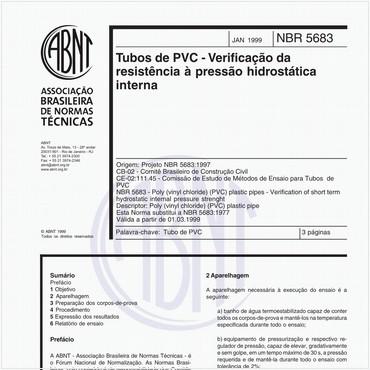 NBR5683 de 01/1999