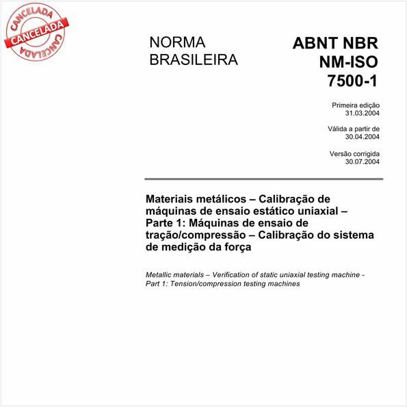 NBRNM-ISO7500-1 de 12/2016