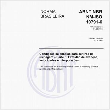 NBRNM-ISO10791-6 de 03/2004