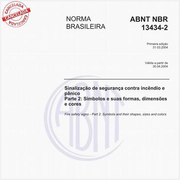 NBR13434-2 de 03/2004