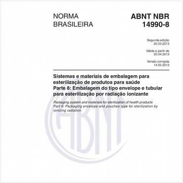 NBR14990-8 de 03/2013