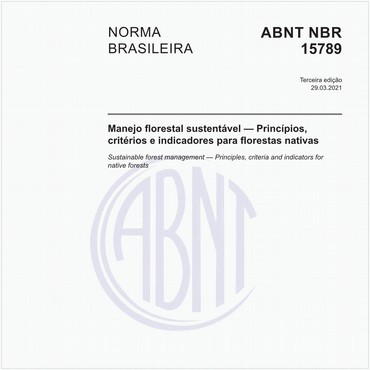 NBR15789 de 11/2013