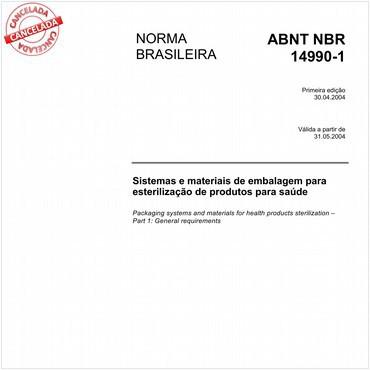 NBR14990-1 de 04/2004