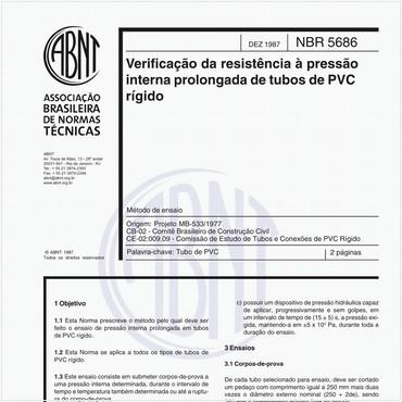 NBR5686 de 12/1987