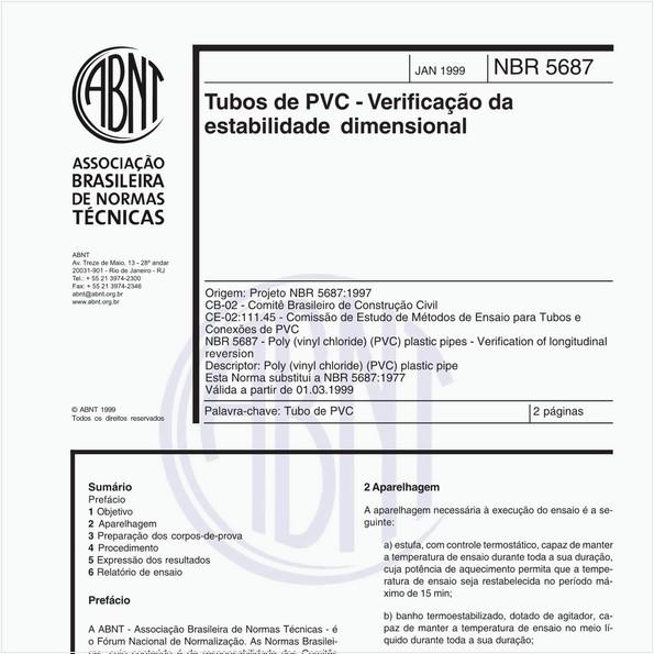 NBR5687 de 01/1999