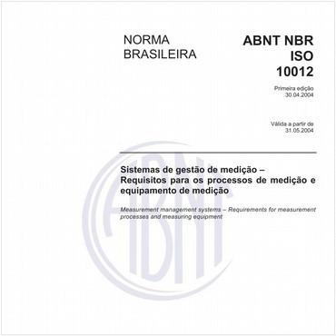 NBRISO10012 de 04/2004