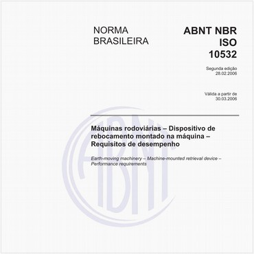 NBRISO10532 de 02/2006