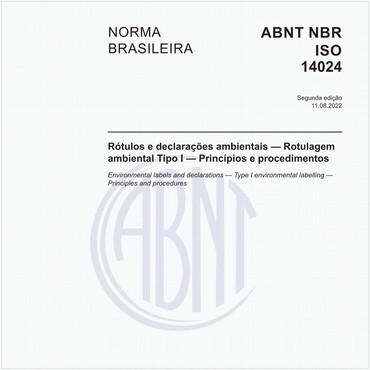 NBRISO14024 de 04/2004