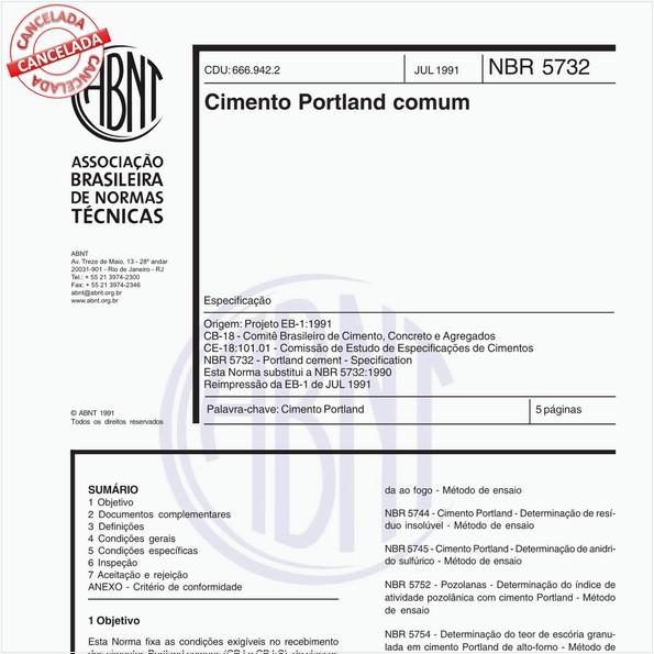 Cimento Portland comum
