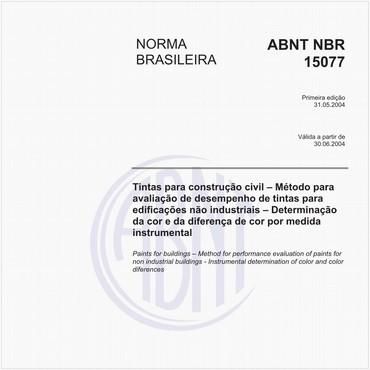 NBR15077 de 05/2004