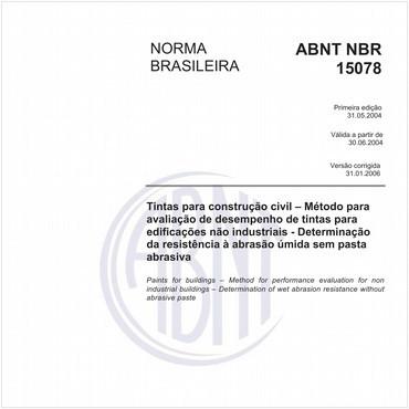 NBR15078 de 05/2004