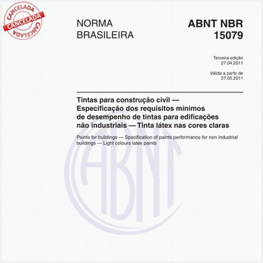 NBR15079 de 04/2011