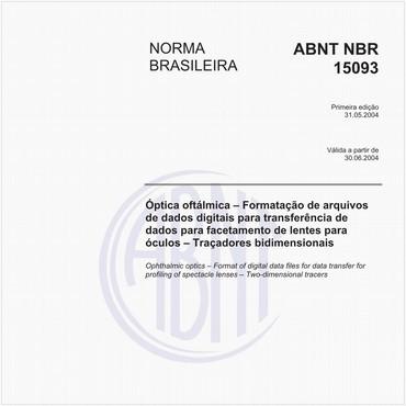 NBR15093 de 05/2004