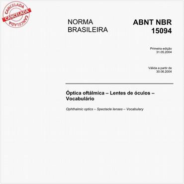 NBR15094 de 05/2004