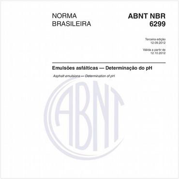 NBR6299 de 09/2012