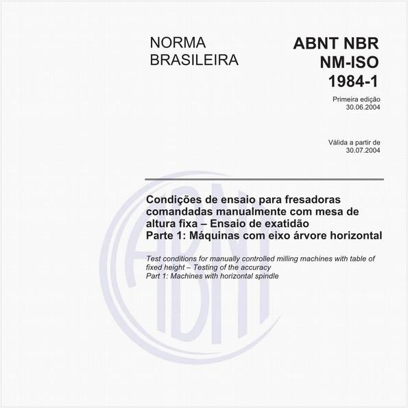 NBRNM-ISO1984-1 de 06/2004