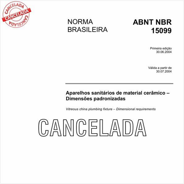NBR15099 de 01/2011