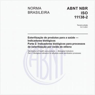 NBRISO11138-2 de 07/2016