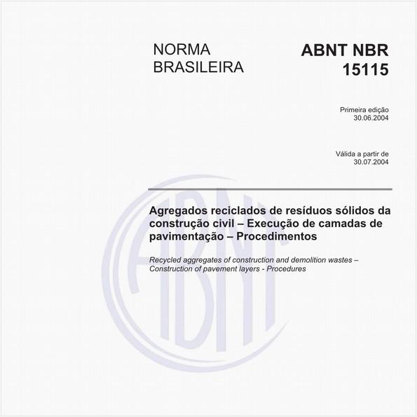 NBR15115 de 06/2004