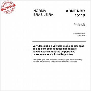 NBR15119 de 07/2004