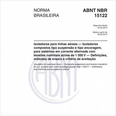 NBR15122 de 05/2013