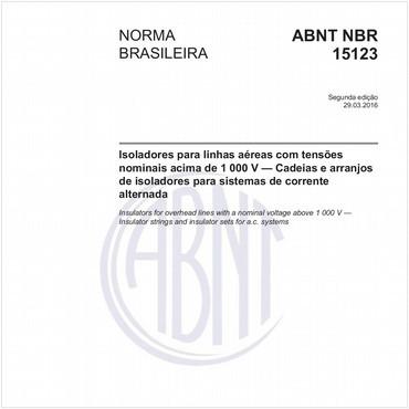 NBR15123 de 03/2016