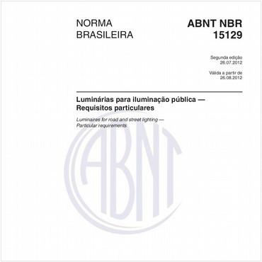 NBR15129 de 07/2012