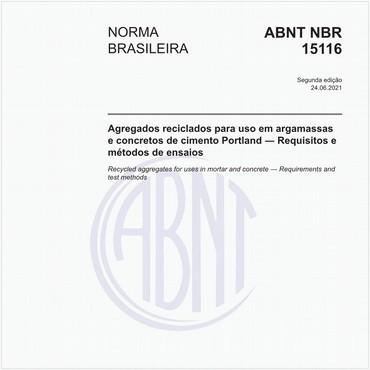 NBR15116 de 06/2021