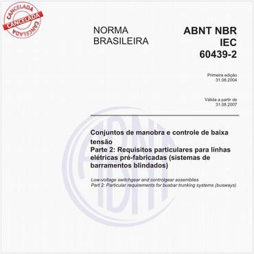 NBRIEC60439-2 de 08/2004