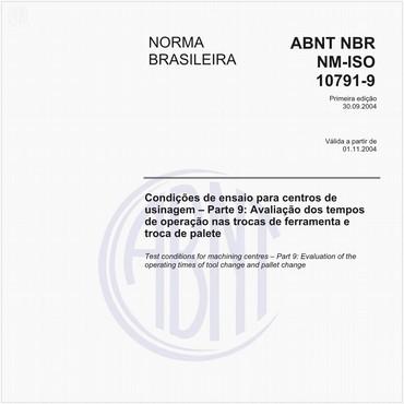 NBRNM-ISO10791-9 de 09/2004