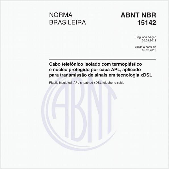NBR15142 de 01/2012