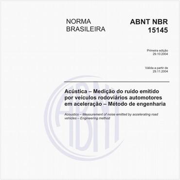 NBR15145 de 10/2004