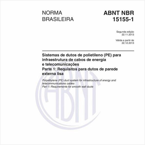 NBR15155-1 de 11/2013