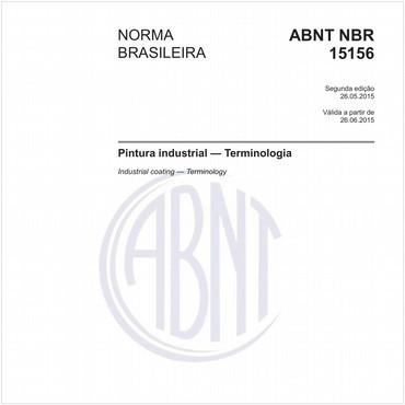 NBR15156 de 05/2015