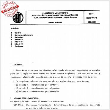 NBR10572 de 12/1988