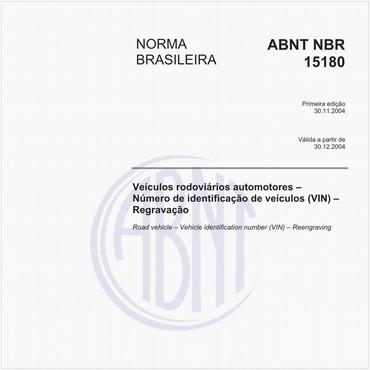 NBR15180 de 11/2004