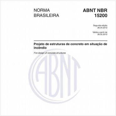 NBR15200 de 04/2012