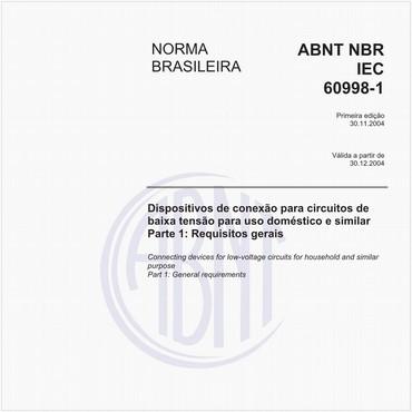 NBRIEC60998-1 de 11/2004