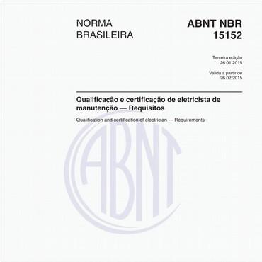 NBR15152 de 01/2015