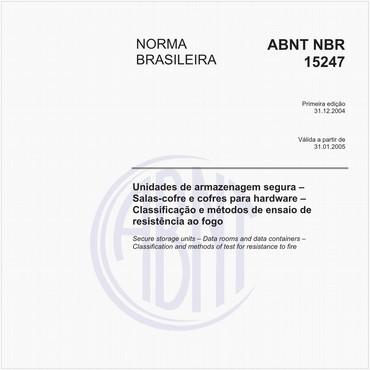 NBR15247 de 12/2004