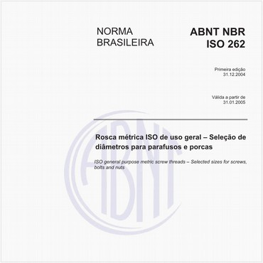NBRISO262 de 12/2004