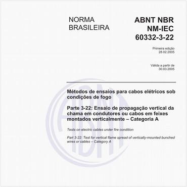 NBRNM-IEC60332-3-22 de 02/2005
