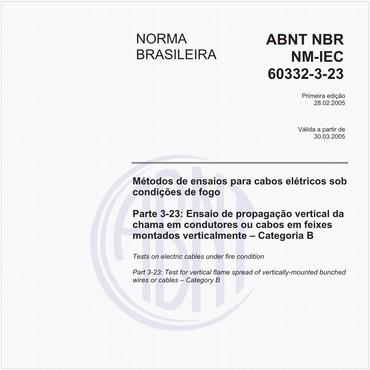 NBRNM-IEC60332-3-23 de 02/2005