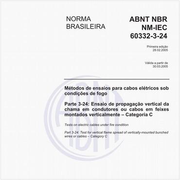 NBRNM-IEC60332-3-24 de 02/2005