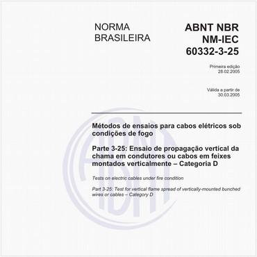 NBRNM-IEC60332-3-25 de 02/2005