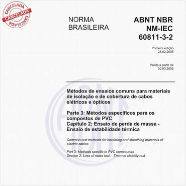 NBRNM-IEC60811-3-2 de 02/2005