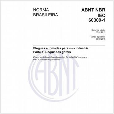 NBRIEC60309-1 de 01/2015