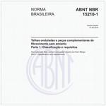 NBR15210-1 de 07/2014