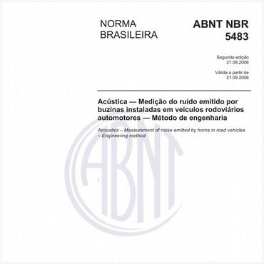 NBR5483 de 08/2006