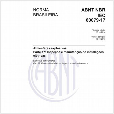 NBRIEC60079-17 de 10/2014